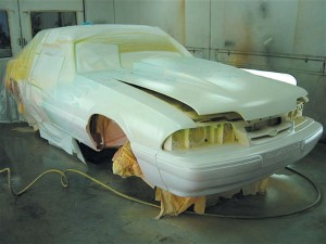 Mustang Paint Job ~ Auto Shop