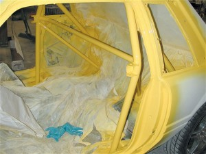 Mustang Paint Job ~ Interior Paint