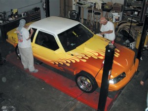 Mustang Paint Job ~ Finished Look